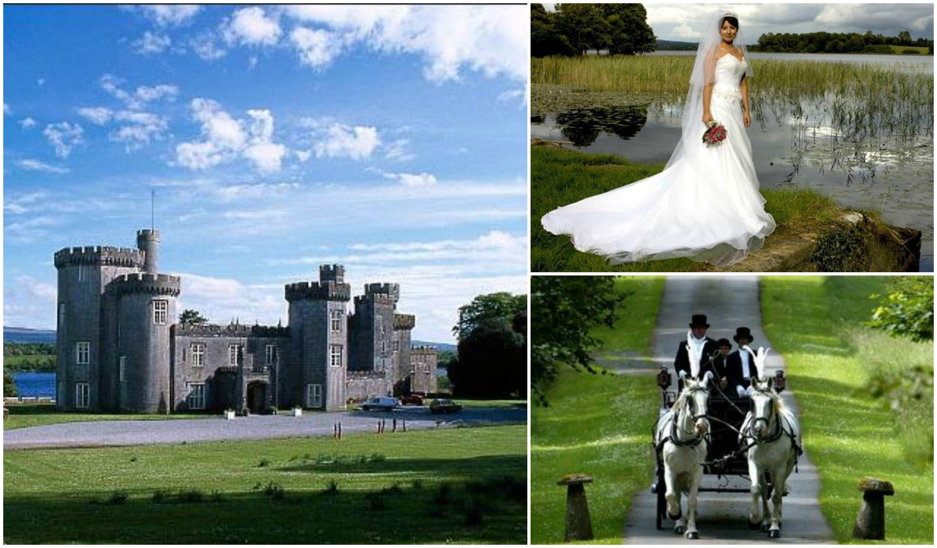 interesting wedding venues ireland%0A Wedding    Lough Cutra Castle  Galway  Ireland