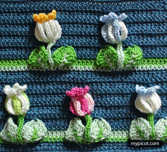 MyPicot | Free Crochet Stitch Patterns #crochetstitchespatterns