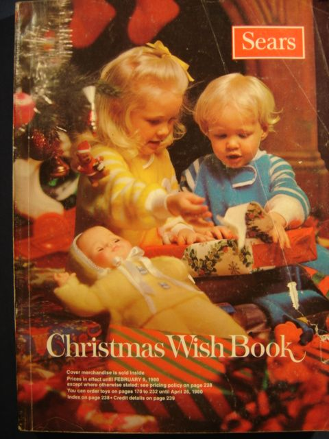 My kids each had their own Sears and Penney's Christmas Catalogs every year.