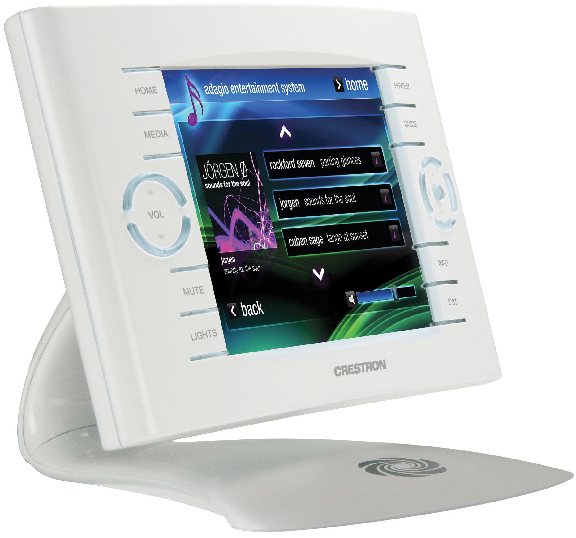Crestron Automation Touchscreen Controller Tps 6x Home Automation System Home Automation Touch Panel