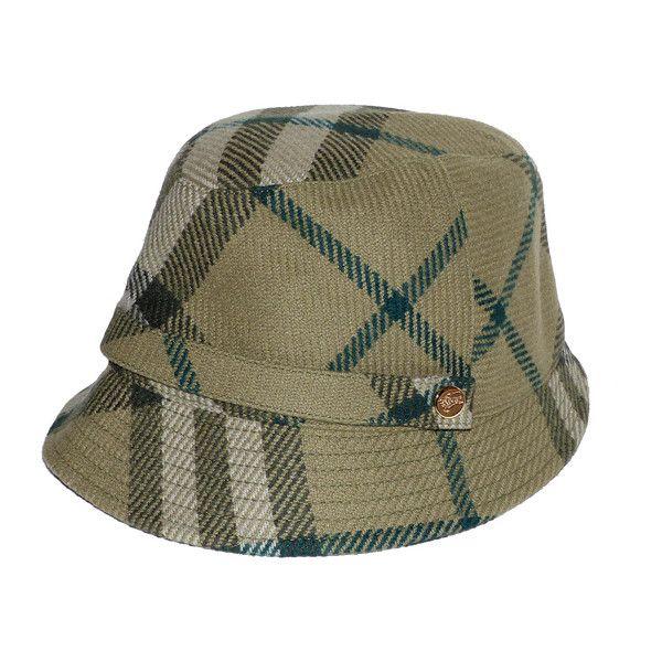 depot vente de luxe en ligne burberry chapeau check tartan laine verte - On  sale eshop luxe www.tendanceshopping.com fb14bec9bd46