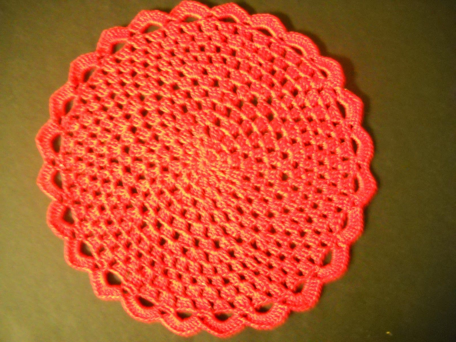 Very Easy Crochet Doily Patterns This Is A Doily I Made From A