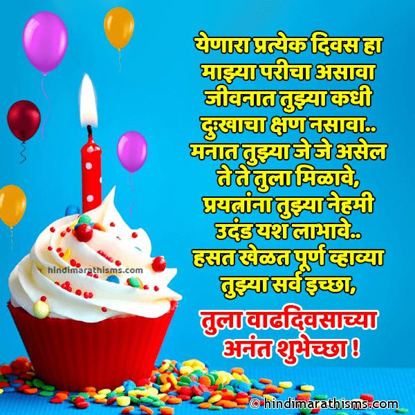 Happy Birthday Wishes In Marathi Language Text (27246