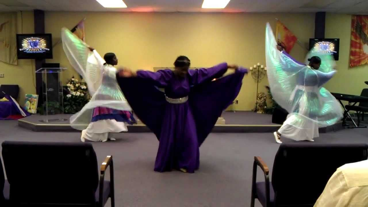"""Authority In Motion  (Praise Worship Dance) """"HOW GREAT IS OUR GOD"""" (Bish..."""