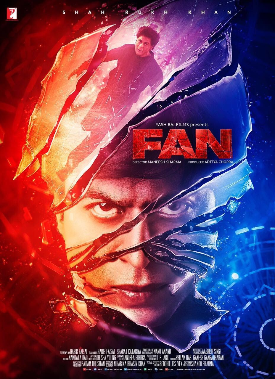 Fan is an 2016 indian thriller film directed by