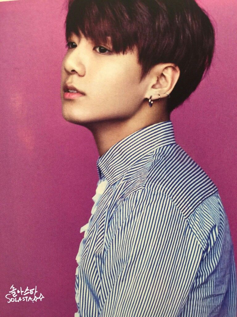 Jungkook BTS for Singles Magazine January 2017 Issue #BTS ...