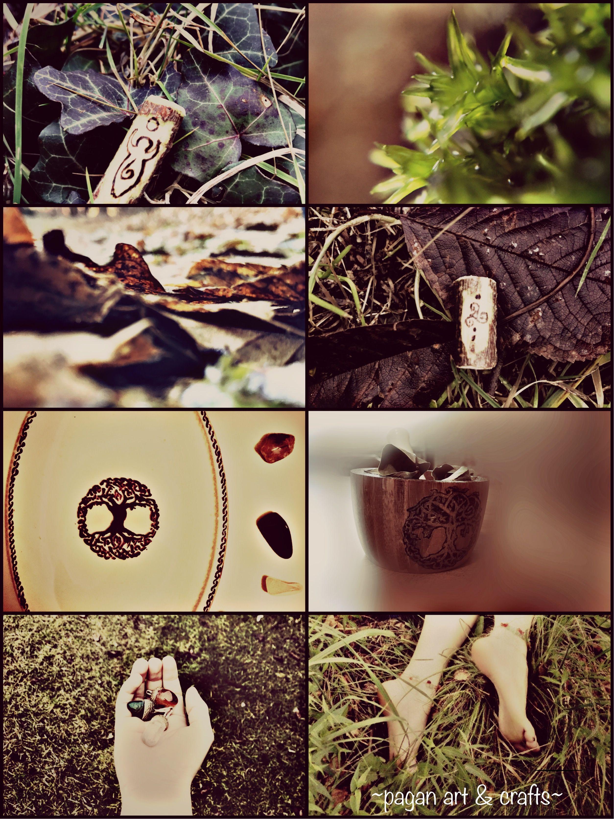 Pagan crafts, Earth inspiration, Pagan jewelry, celtic