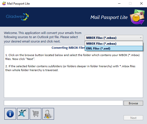Mail Passport Lite A 2in1 Email Converter Tool Help You In
