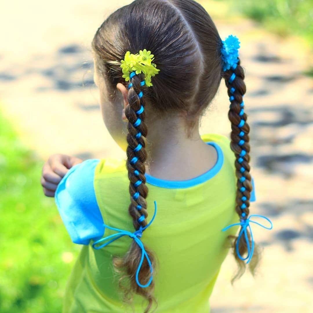 Cute girls hairstyle kidus hair braids school hair easy