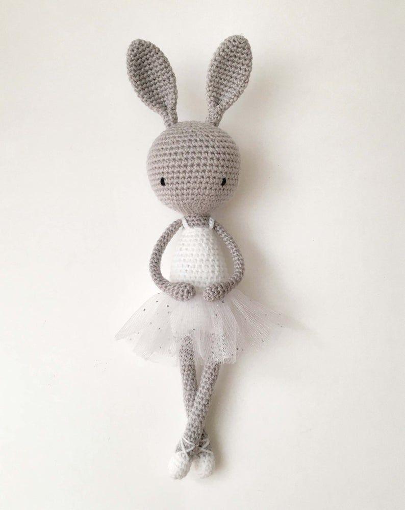 Lapin - Happy, Hippy et Hoppy - Amigurumi Crochet Patron - PDF ... | 998x794