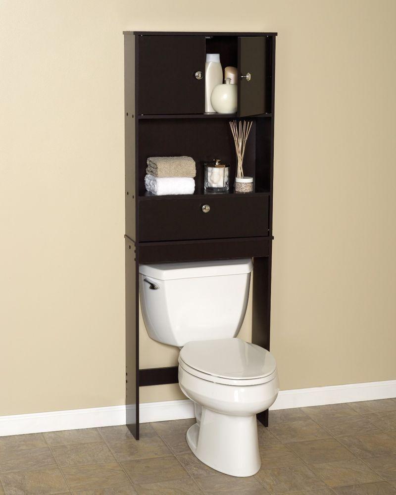 zenna home drop door bathroom spacesaver with 2 door 1 shelf cabinet rh pinterest com