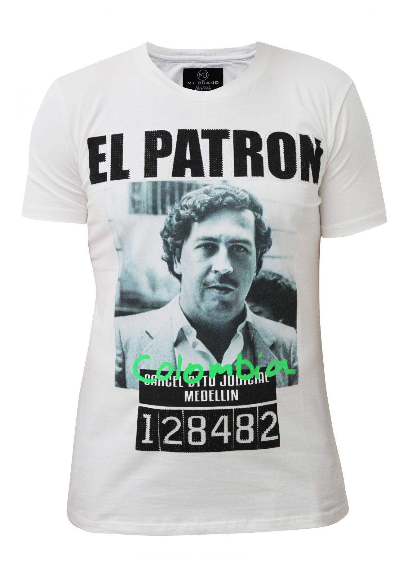 Camiseta ESCOBAR EL PATRÓN PEDIDOS Whatssap 626907373