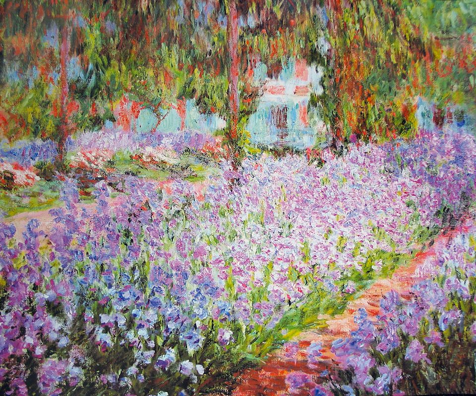 Artists garden at giverny claude claude