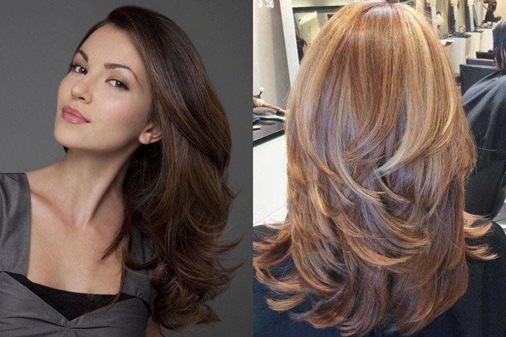 Сексуальные причёски для длинных волос летнего цветотипа