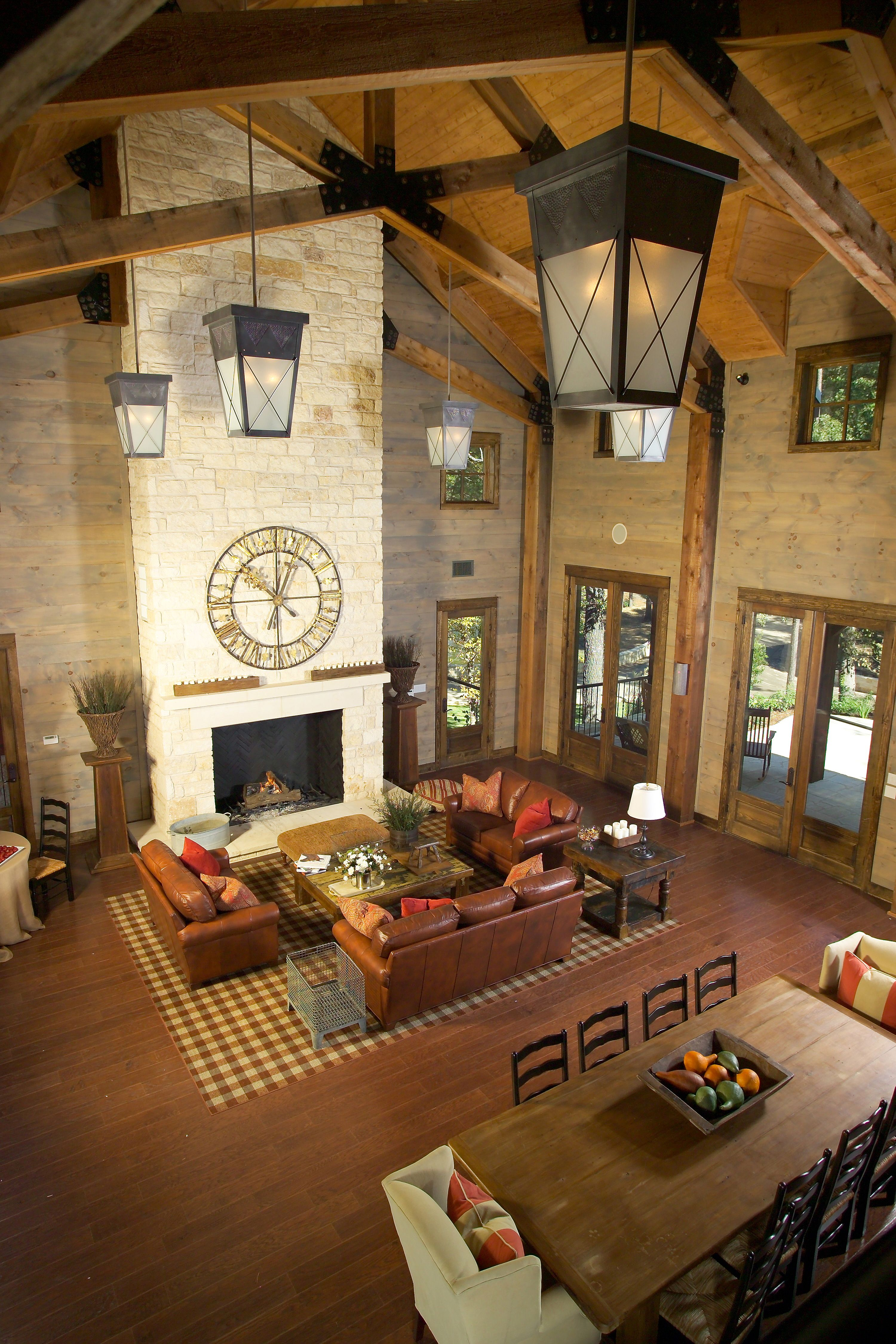 Fireplaces Great Rooms And Room: Great Layout. Just What We Plan, On Either Side Of Fireplace Archway Doors With O…