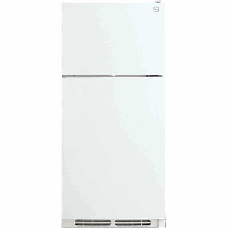 Refurbished appliacne -  Kenmore - 60022 - 16.3 cu. ft. Top Mount Refrigerator - White   Sears Outlet
