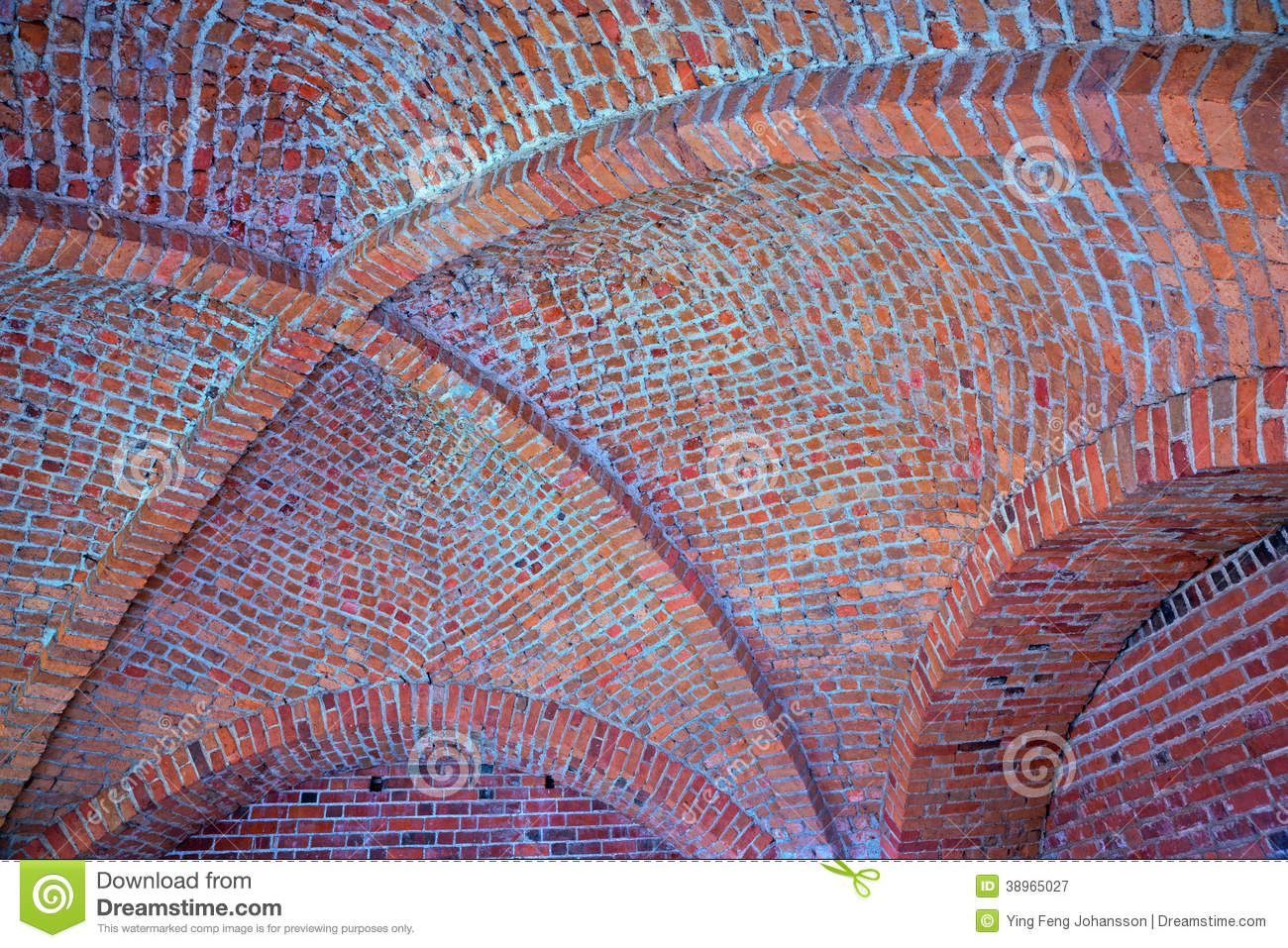 Vaulted Brick Ceiling Stock Photo - Image: 38965027 | Wine Cellar ...
