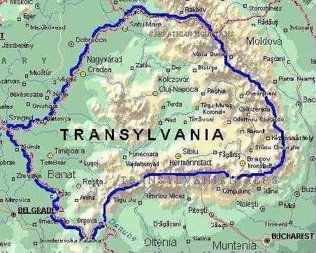 Sighet Transylvania Transylvania Map Turda