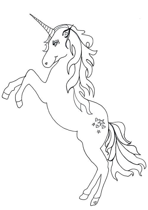 Unicorn Coloring Page Unicorn Coloring Pages Stitch Coloring Pages Kitty Coloring