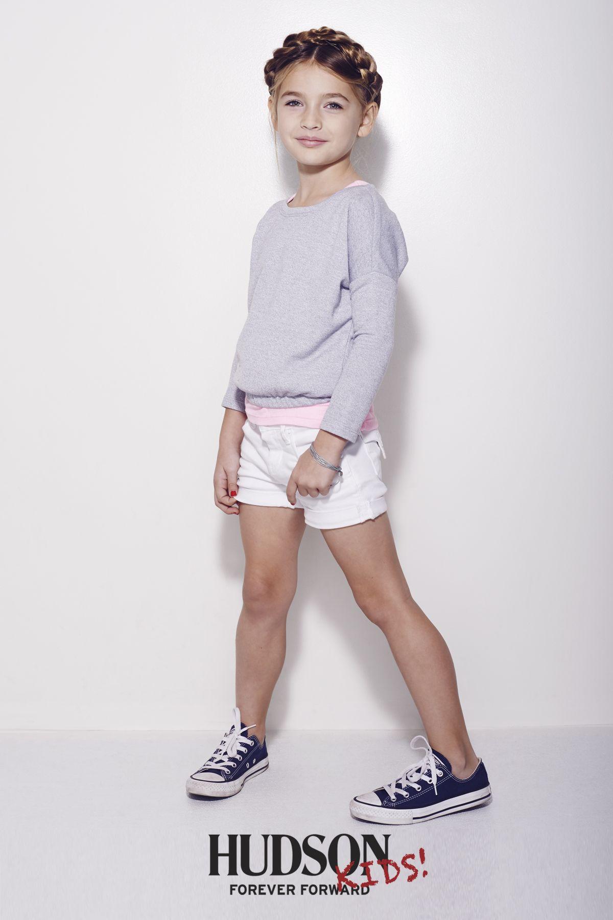 8cafbe3936 Hudson Kids white jean shorts   Hudson Jeans Kids Spring 2015 ...