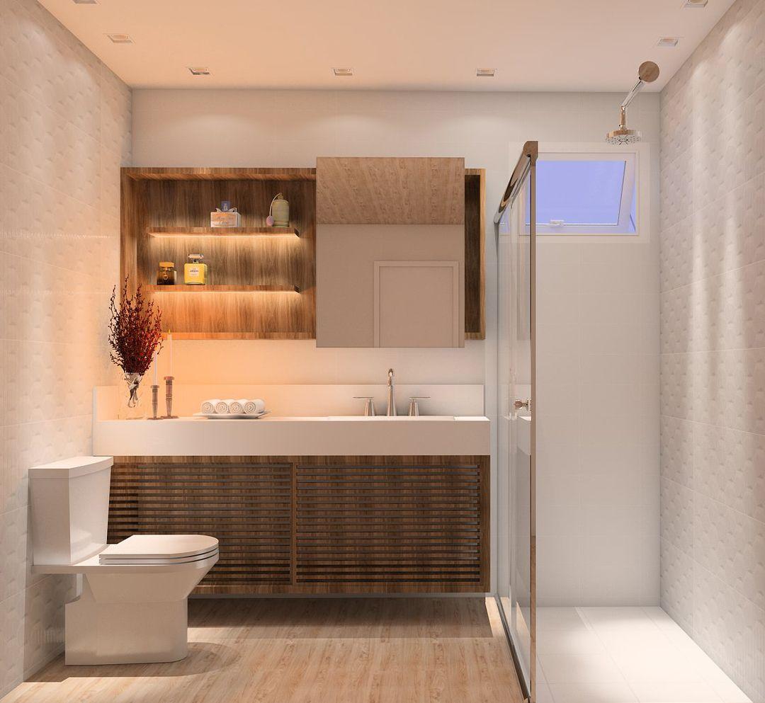 #projetosHAUS O banheiro da suíte também pode receber o seu charme. Projeto casaIRACET.    #Haus #architecture #design #decoração #interiordesign #interiores #instadecor #homedecor #designdeinteriores #arquitectura #archilovers #projeto #decoration #interior #instadesign #homedesign #instahome #architect #lifestyle #interiorstyling #interiordecor #interiors #mood #banheiro #bathroom #mobiliário #arquitetura #hausengenho