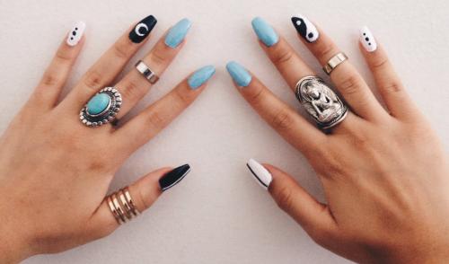 Beautifulll Nailsart Longnails Nails Pinterest Soft Grunge