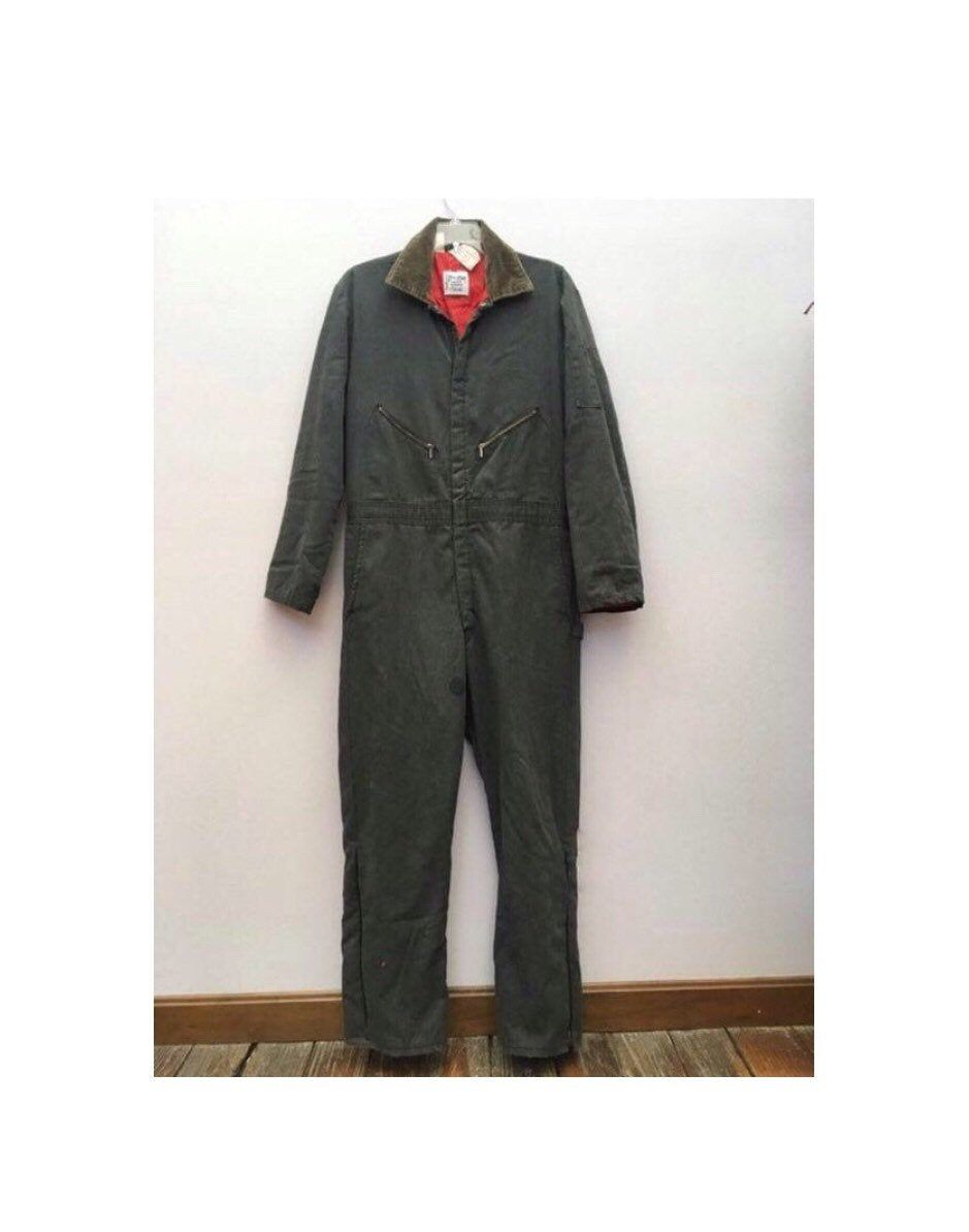 1970s Zero Zone Insulated Coveralls By Walls Vintage Coveralls