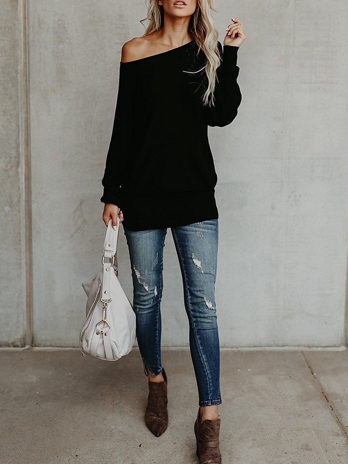 How to oversized wear sweaters pinterest catalog photo