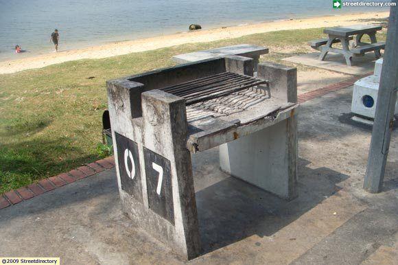 Sembawang Park Bbq Pit 7 Parking Design Bbq Pit Public Restroom Design