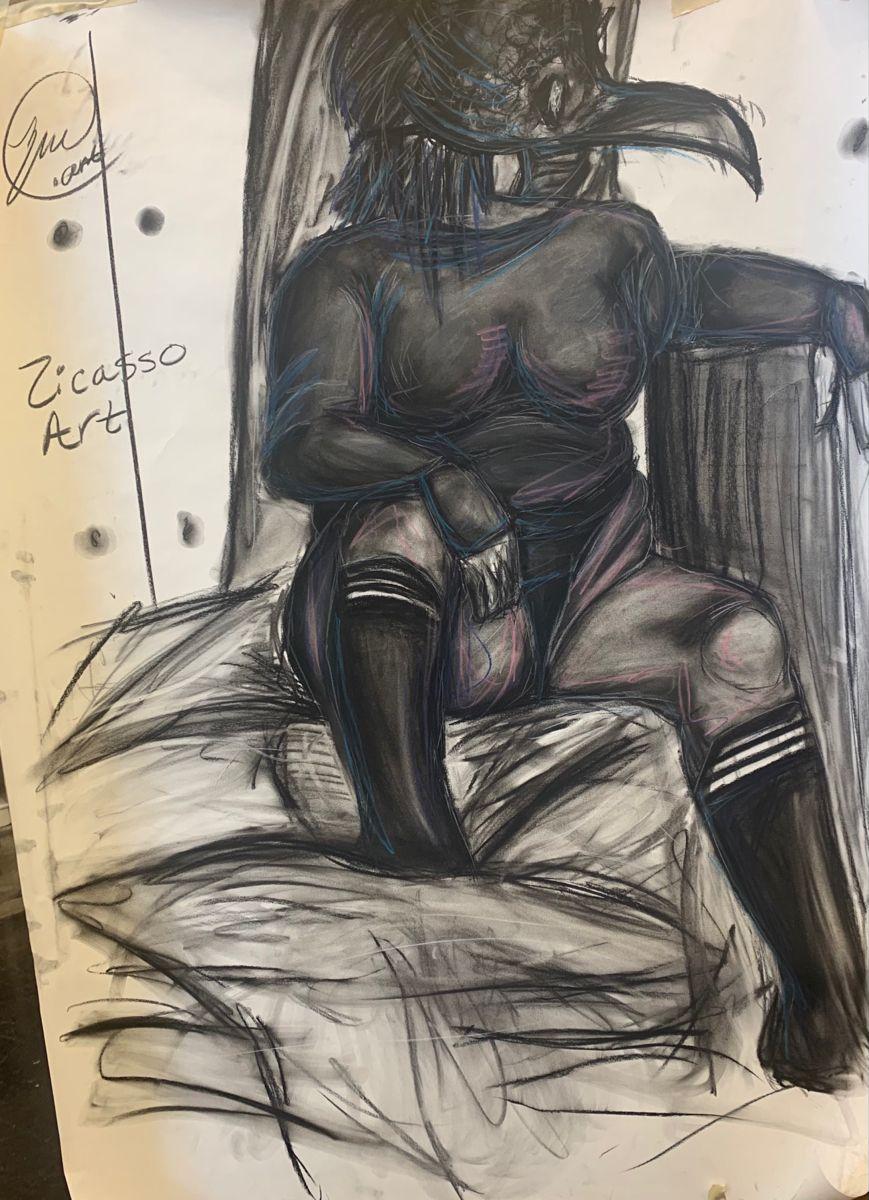 Add me on tiktok and instagram 🖤🤍🖤🤍 #drawing #drawthisinyourstyle #drawingartist #tiktok #artoninstagram