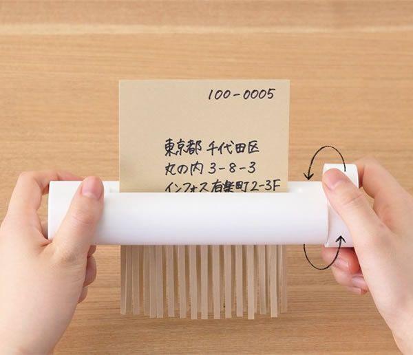 Portable Manual Paper Shredder