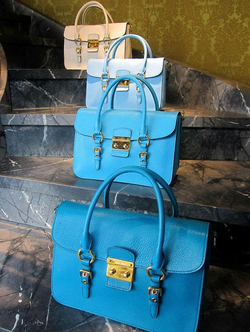 Miu Miu Madras handbags