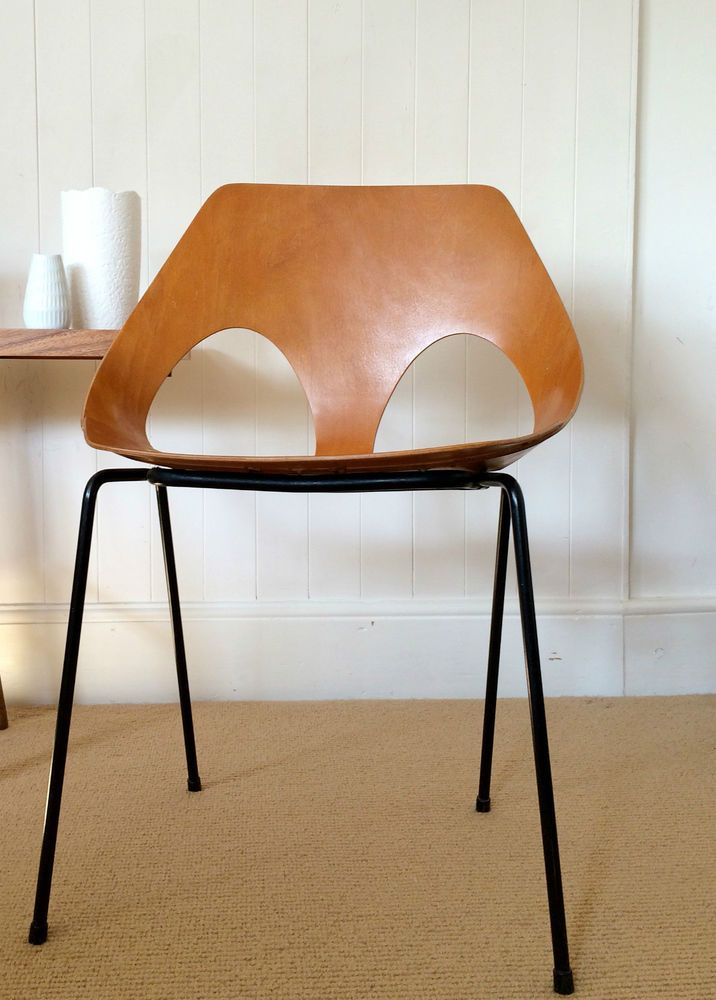 Lovely SOLD Vintage JASON Chair KANDYA Carl Jacobs GUILLE 1950u0027s Beech Plywood C3  Model In Antiques,