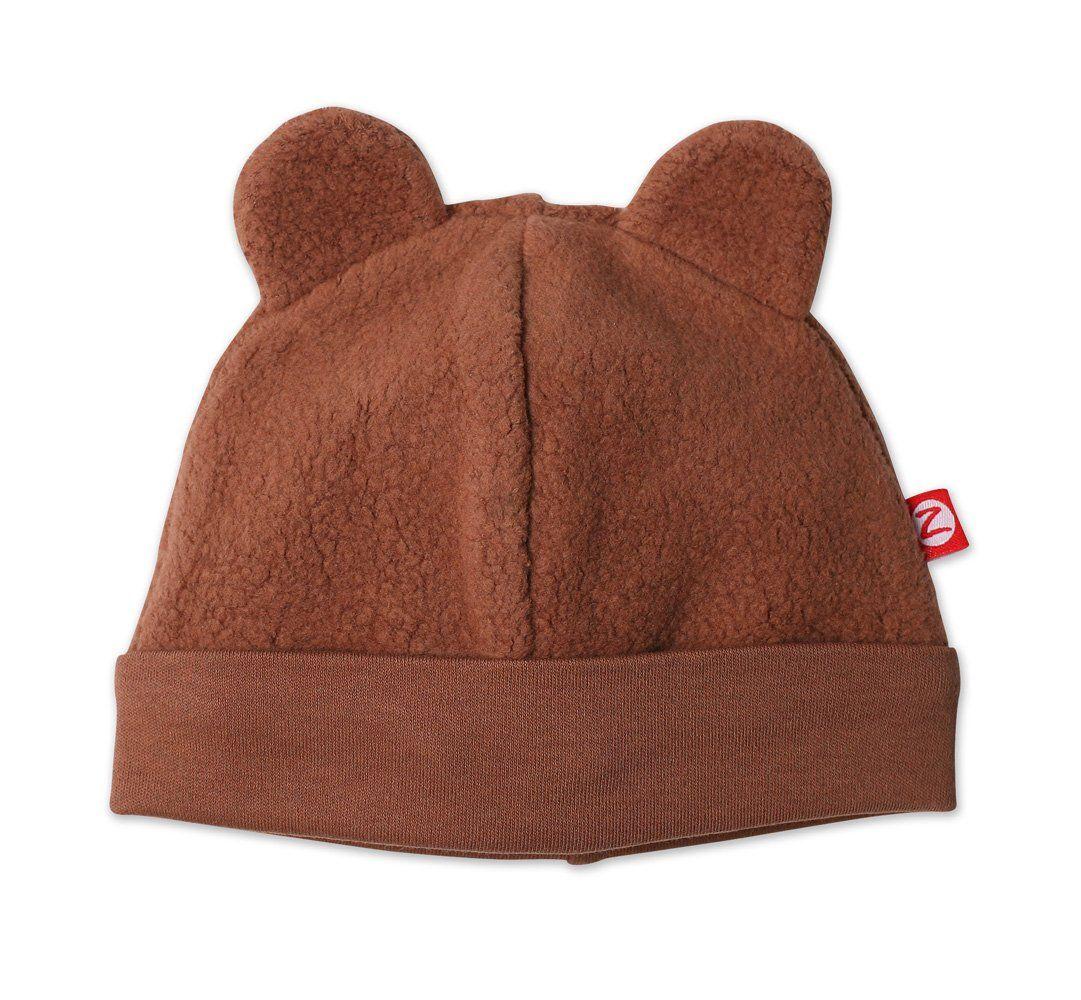 Amazon Com Zutano Unisex Baby Fleece Hat Chocolate 18m 12 18 Months Clothing Baby Winter Hats Baby Boy Hats Unisex Baby
