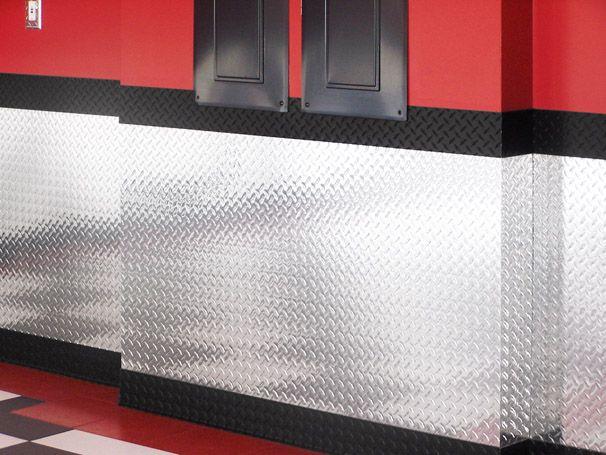 Garage Garage Decor Plates On Wall Garage Walls