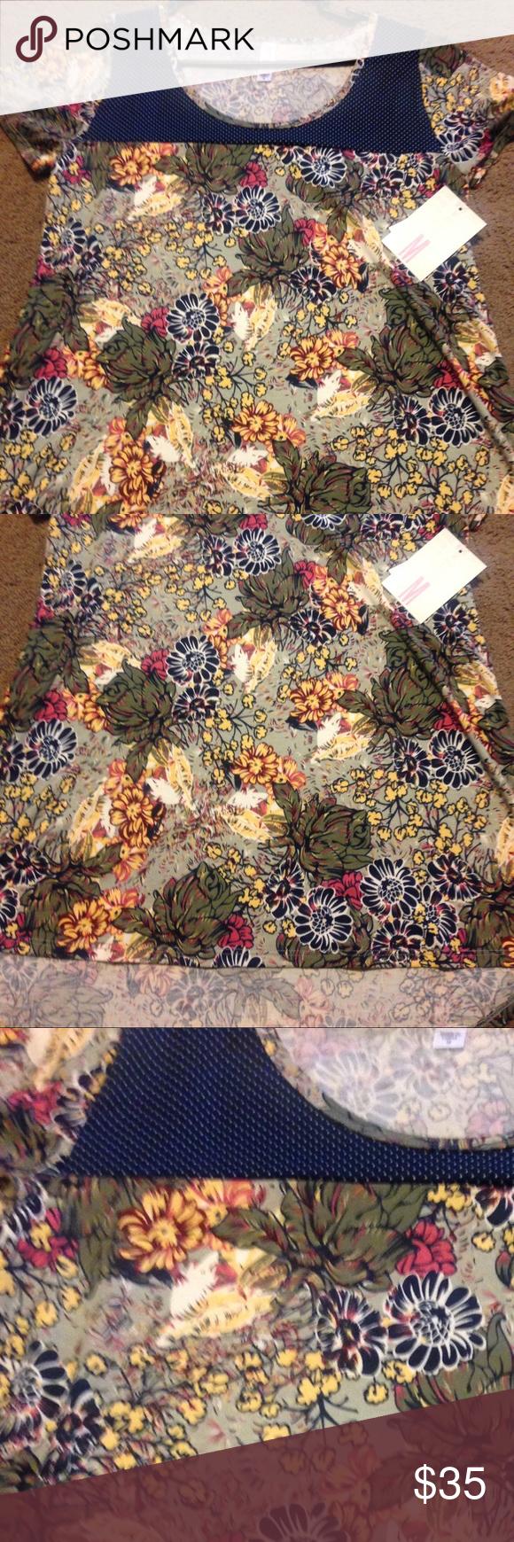 Lularoe Cassie BNWT Classic size Medium LuLaRoe Tops Tunics