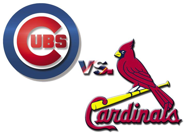 cubs cardinals louis st chicago game cardinal cards wrigley ribbon mlb rivalry fan fair state series field franchise four goodbye