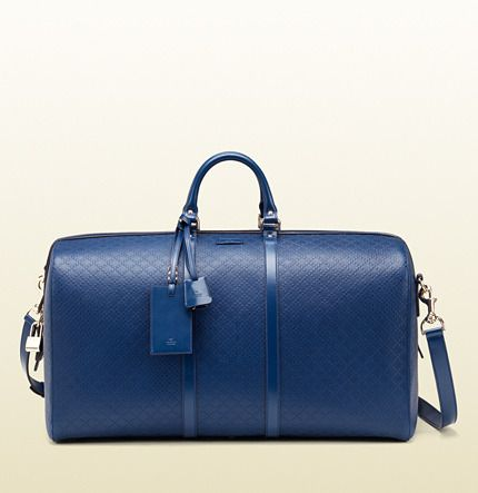 Gucci Bright Diamante Leather Carry-On Duffle Bag on shopstyle.com