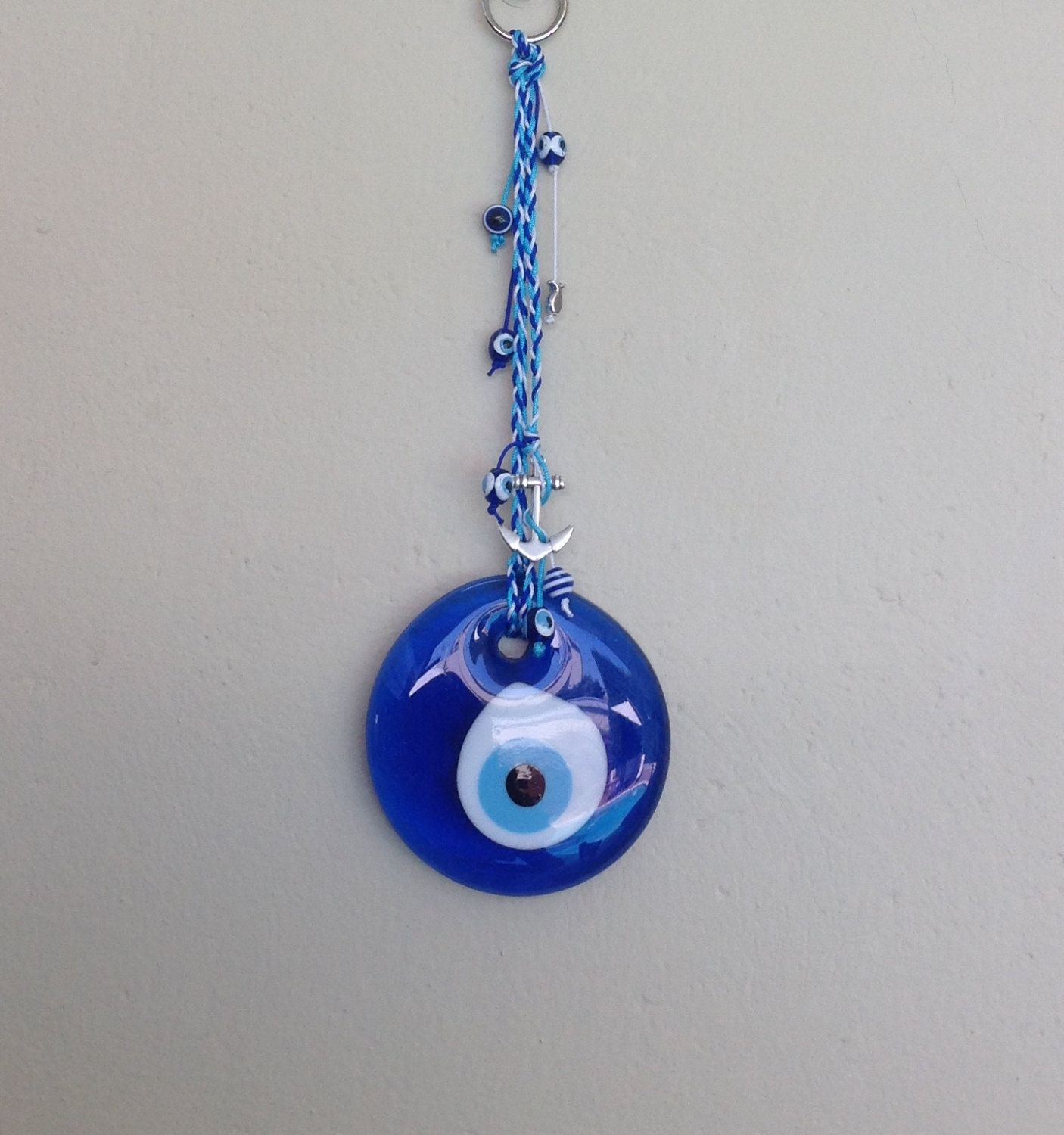 Round evil eye charm good luck charm nazar talisman greek round evil eye charm good luck charm nazar talisman greek mozeypictures Images
