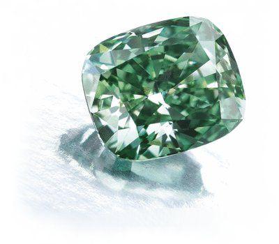2.52-carat Fancy Vivid Green Diamond sold at Sotheby's