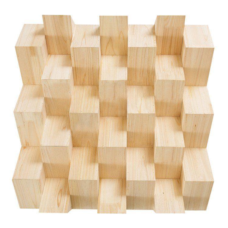New Quadratic Acoustic Diffuser Wood Panels Sound Absorption Studio ...