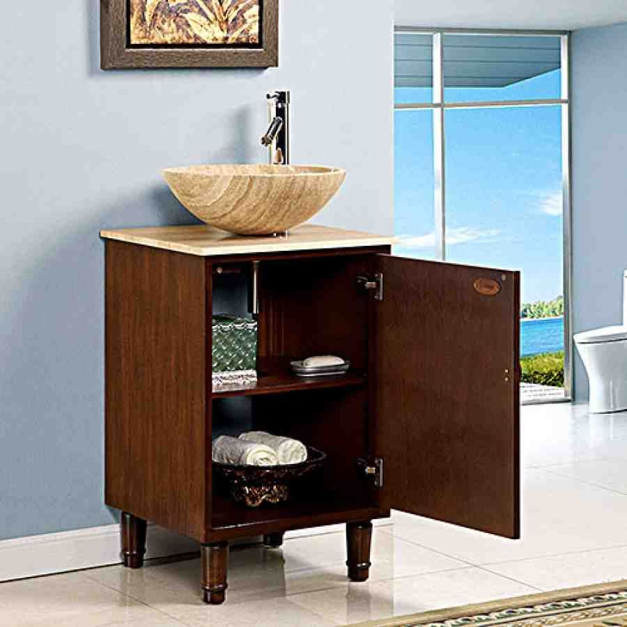 18 Inch Bathroom Vanity Cabinet 1 With Images Unique Bathroom