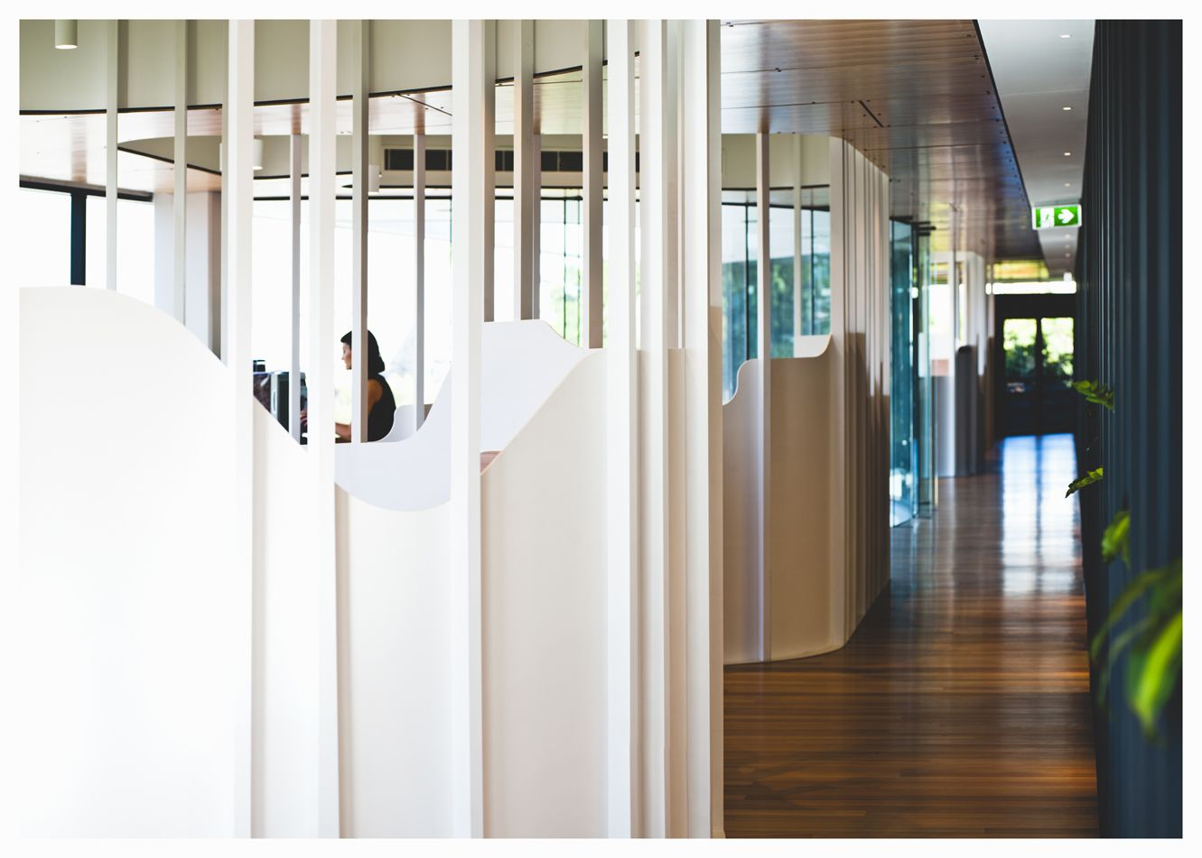 Murphy Pipe and Civil office fit-out. Jarosz Design in collaboration with Marc&Co and Baber Studio. Photography: Camera Obscura #officedesign