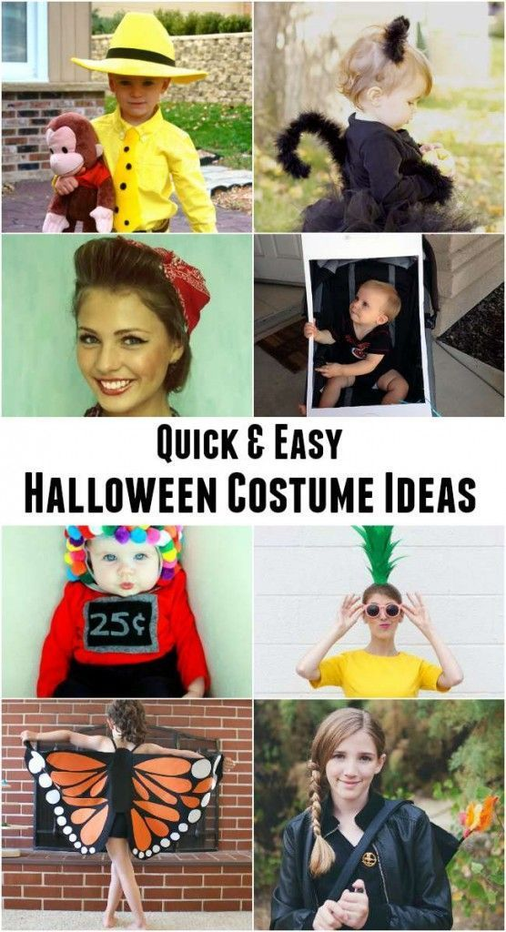 Quick and Easy Halloween Costume Ideas Best Halloween Ideas - quick halloween costumes ideas