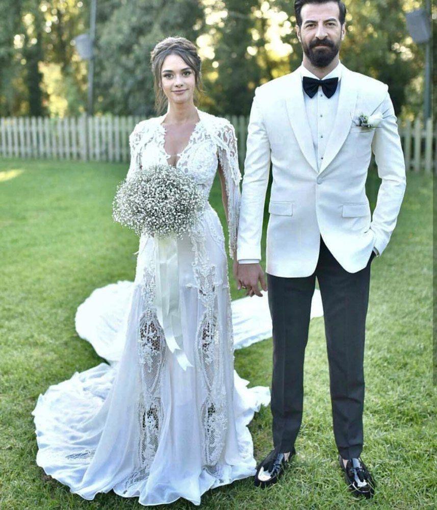 Hande Soralın Gelinliği ünlülerin Gelinlik Modelleri Wedding