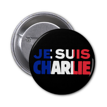 Je Suis Charlie - I am Charlie- French flag. This simple declaration-- 'I am Charlie'--translated from the French 'Je suis Charlie' states in clear and bold words a statement of solidarity and support in defense of the universal principles of freedom of speech and freedom of the press. Made to honor the murdered Charlie Hebdo journalists and police who were the victims of terrorism in Paris, France on January 7, 2015, as well as the many wounded and traumatized citizens, you can wear French…