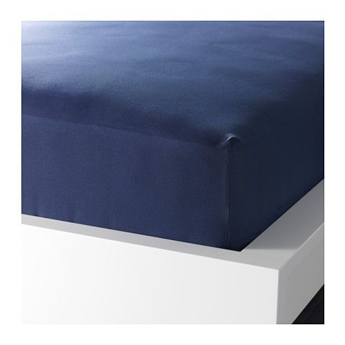 drap housse pour matelas 26 cm IKEA   DVALA, Drap housse, 90x200 cm, , Le coton est doux et  drap housse pour matelas 26 cm