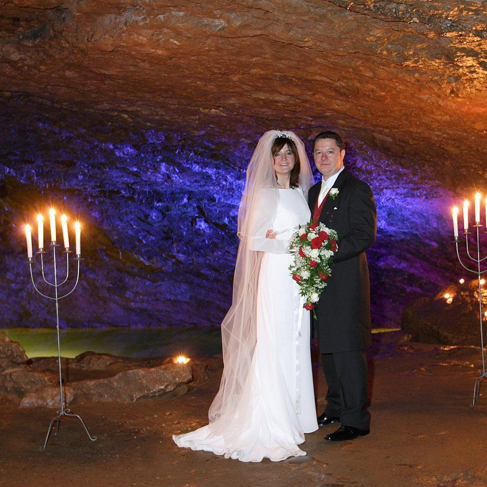 Wookey Hole Caves Perfect For A Wedding Reception Near To Wells Venue In Somerset Your Civil Ceremony And