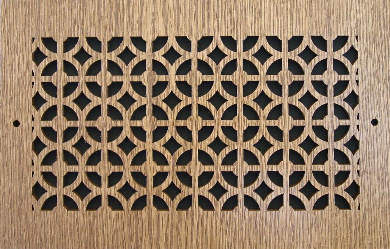 Wood Wall and Ceiling Vent Covers Pattern C Vent covers
