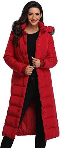 New Molodo Women's Long Down Coat Fur Hood Maxi Down Parka Puffer Jacket Online New Molodo Women's Long Down Coat Fur Hood Maxi Down Parka Puffer Jacket online Woman Coats womans puffer coat with fur hood